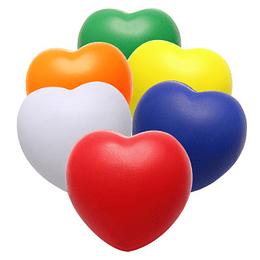 Corazón Anti-Stress con logo