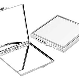 Espejo Metálico Cuadrado Sublimación
