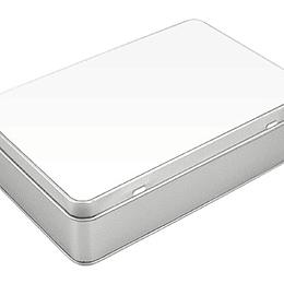 Caja Metálica Rectangular Sublimación
