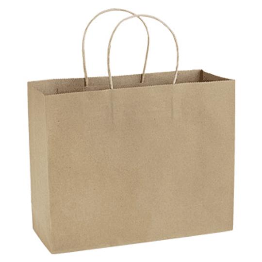 Bolsa de Papel 120g/m2 30 x 25 x 10 cm E103