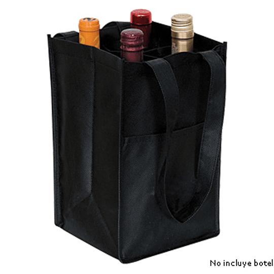 Porta-Botellas de Vino de TNT 18.5 x 29.5 x 18 cm. E16