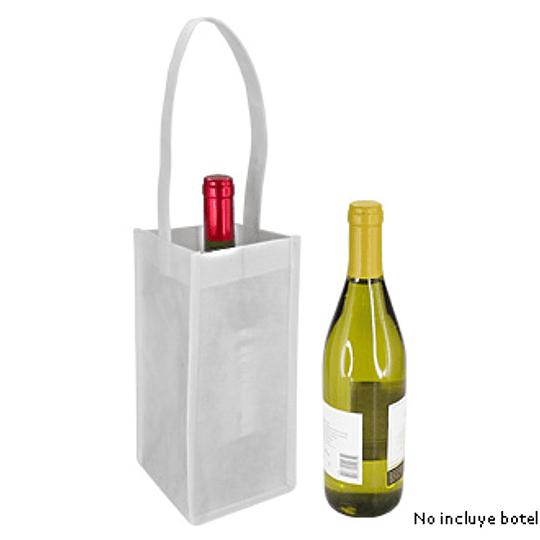 Porta-Botella de Vino incluye logo full color Y45
