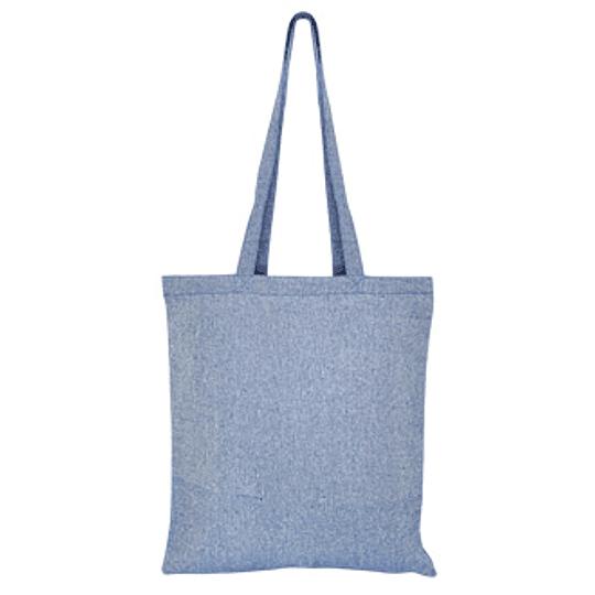 Bolsa de Algodón Reciclado DENIM 38 x 41 cm E120