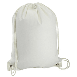 Mochila Simple de Poly-Cotton 34 x 44 cm. S18