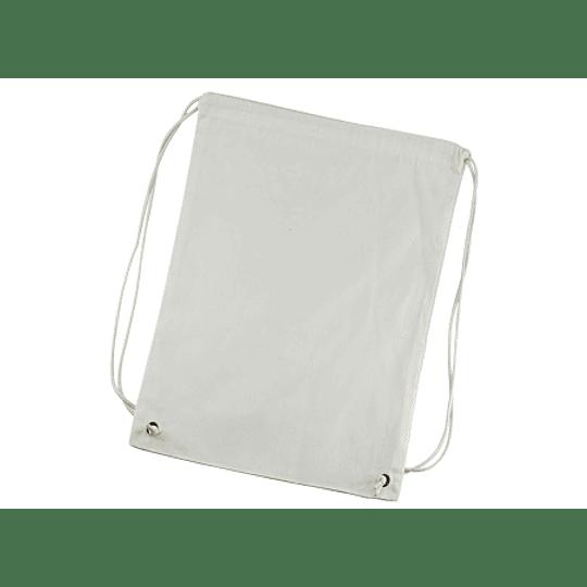 Mochila Simple de Poly-Cotton 34 x 44 cm. S18