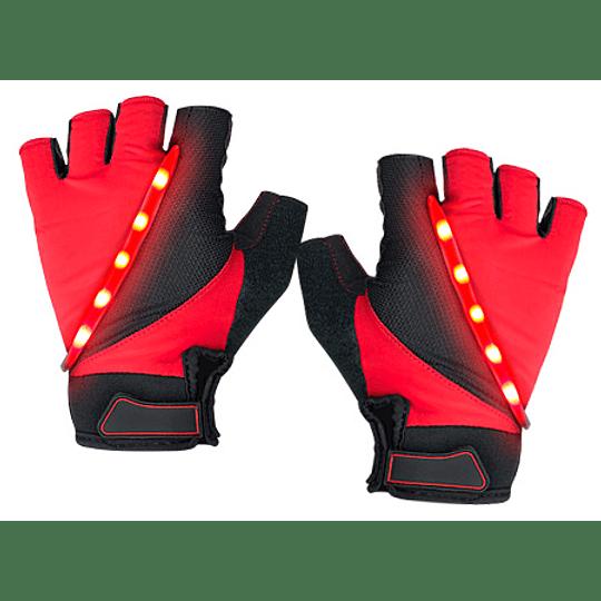 Guantes 5 LED de Ciclismo