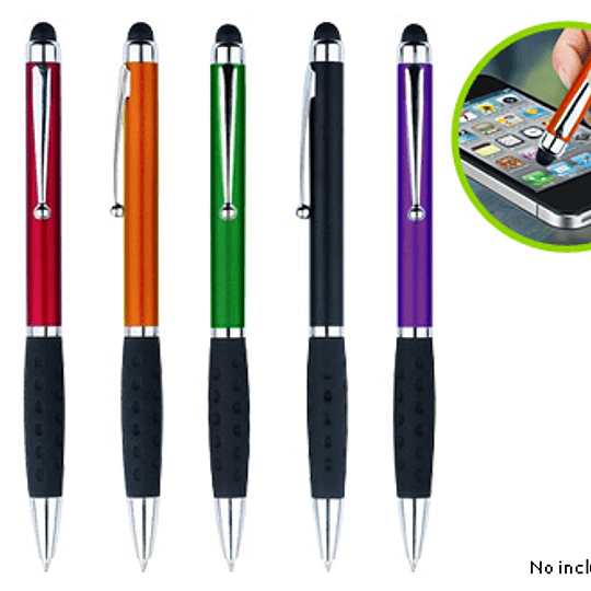 Bolígrafo Touch-Screen Stylus logo full color