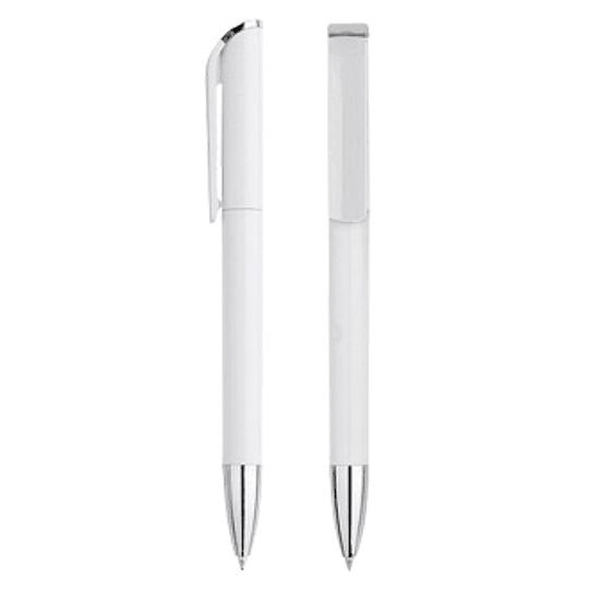 Bolígrafo Plástico Angel 100 unidades con logo full color