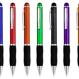 Bolígrafo Plástiuco Qasar Color 100 unidades con logo