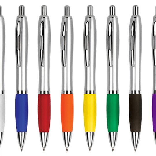 Bolígrafo Plástico Wind Satin 100 unidades con logo
