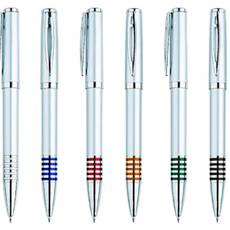 Bolígrafo Plástico Fusión 100 unidades con logo