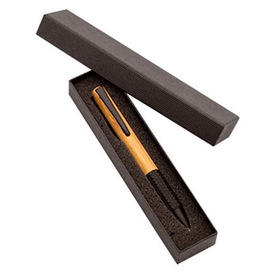 Bolígrafo Ejecutivo Bamboo 100 unidades impreso o grabado