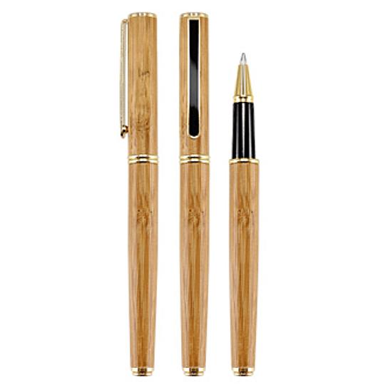 Deluxe Roller Pen Bamboo 100 unidades grabado o impreso