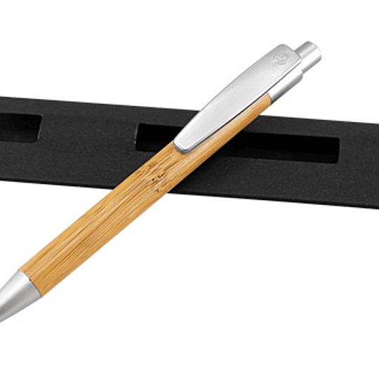 Bolígrafo de Bamboo 100 unidades grabado o impreso