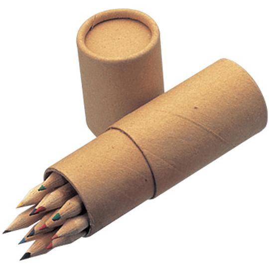 Set 12 Lápices de Color 100 unidades caja impresa