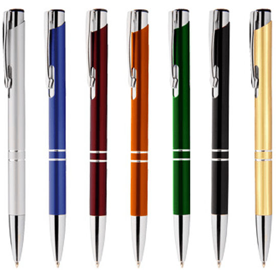 Bolígrafo Metálico Arrow 50 unidades Grabado o impreso