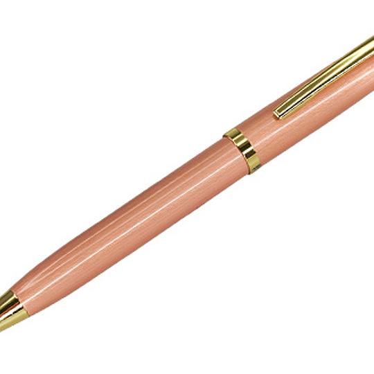 Bolígrafo Metálico Encobrizado 50 unidades Grabado laser