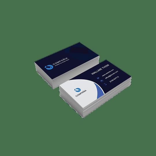 100 Tarjetas de presentación economicas
