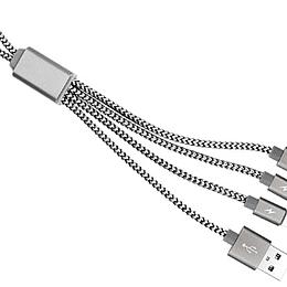 Connect Multicargador Metálico