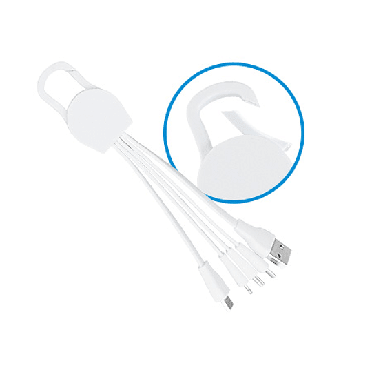 Connect Multicargador Blanco