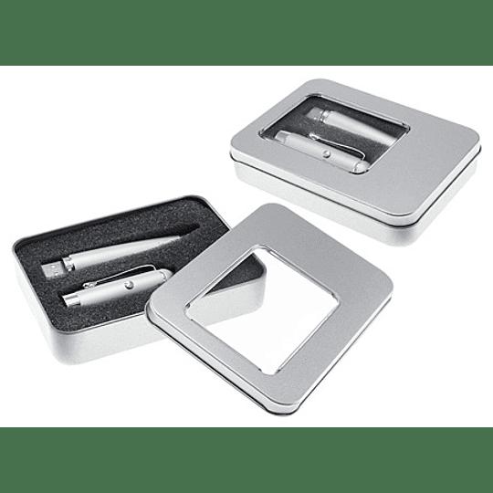 Bolígrafo Láser con Pendrive 8GB 50 unidades grabado o impreso