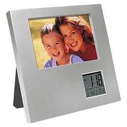 Porta-Retrato con Reloj Digital