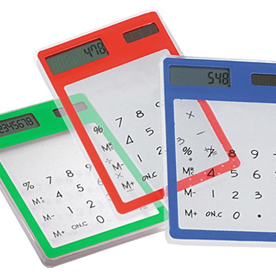 Calculadora Solar Traslúcida de Escritorio.