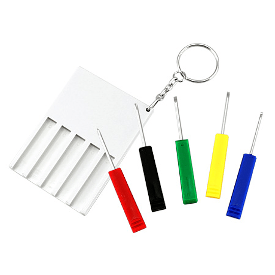 Llavero con Mini-Destornilladores