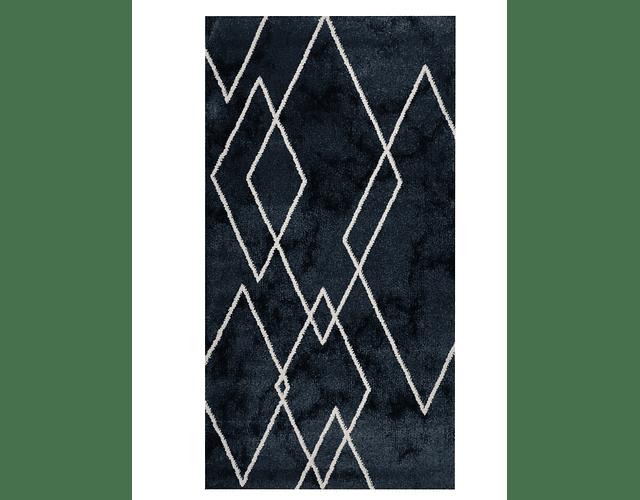 Tapete Diamond - Azul Marinho