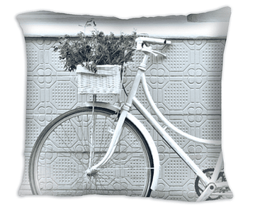 Almofada Decorativa - Bike