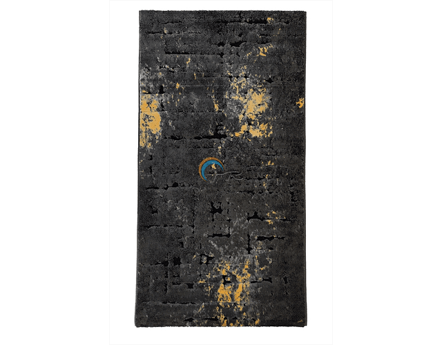 Tapete Feshane - Amarelo e Preto