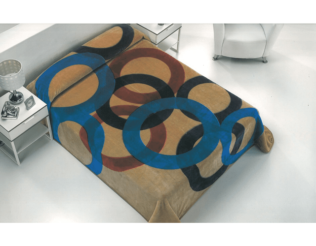 Cobertor Acuarela
