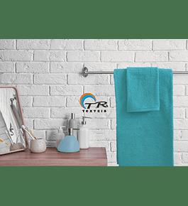 Toalha de Banho 500gr - Azul Turquesa