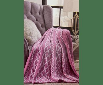 Manta 6310 - Rosa Escuro