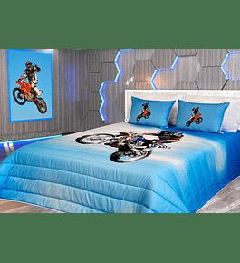 Edredão de Criança - Motocross