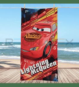 Toalha de Praia - Cars