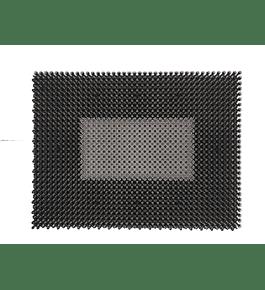 Tapete de Relva - Cinza e Cinza Escuro