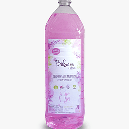 Desinfectante Lavanda 2000 ml Biodegradable