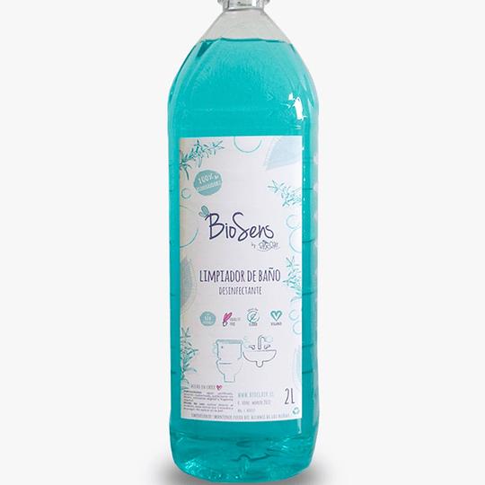 Limpiador de Baños Limón 2000 ml Biodegradable