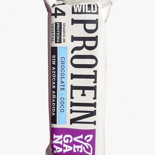 Caja Protein Bar Choco Coco Vegana - 16 unidades