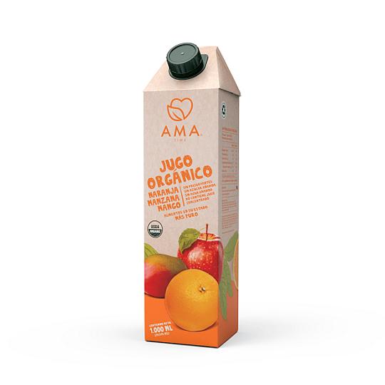 Jugo Naranja Manzana Mango 1L