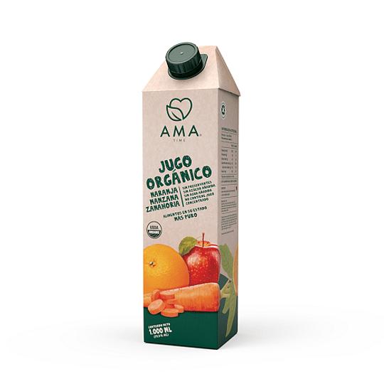 Jugo Naranja Manzana Zanahoria 1L