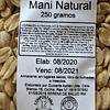 Mani natural 250 grs