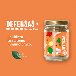 Cápsulas Defensas+