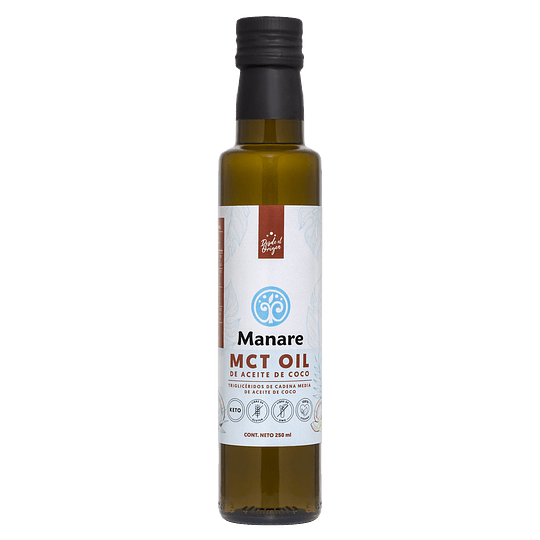 Aceite MCT 250g Manare