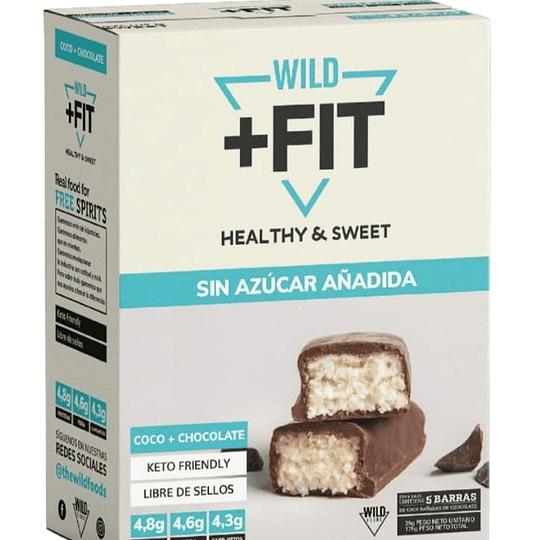 Wild Fit Coco-Choco 5 unidades