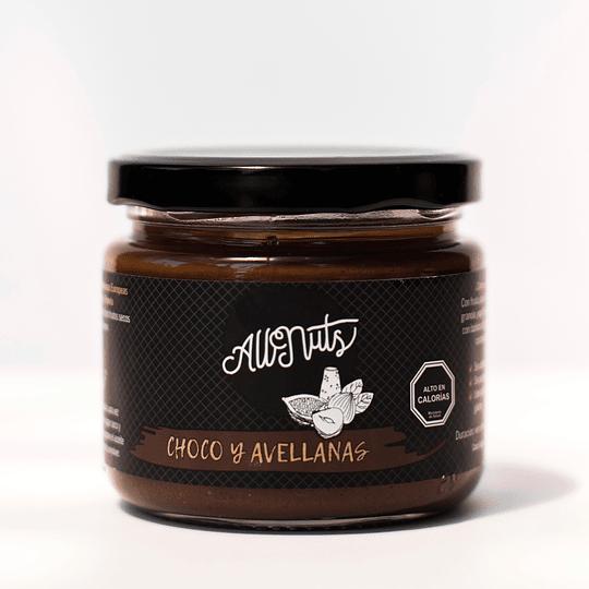 Mantequilla de Avellanas Chocolate 200g AllNuts
