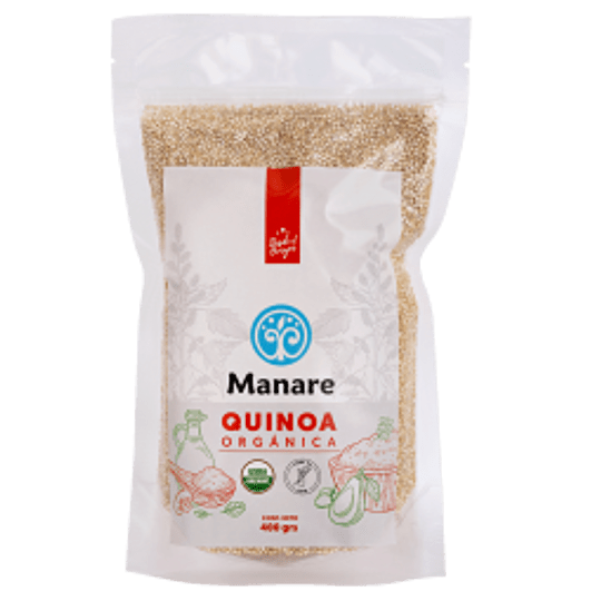 Quinoa Blanca Orgánica 400 grs Manare