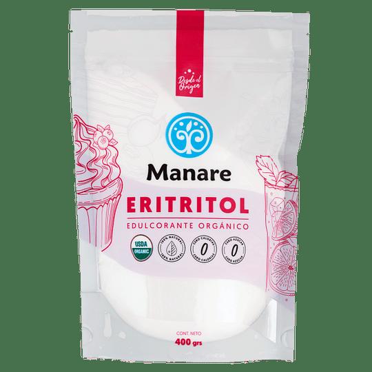 Eritritol Orgánico 400g Manare