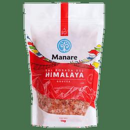 Sal rosada gruesa 1 kg Manare